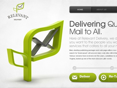 Email Delivery Website