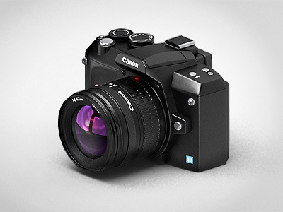 Isometric Camera isometric camera icon 3d vray 3dsmax canon lens
