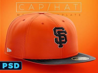 New Era Apparel Hat PSD mockup template new era free freebie photoshop apparel mockup template psd hat