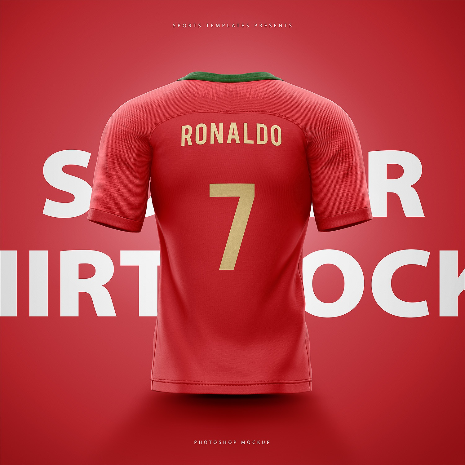 Portugal soccer football world cup 2018 shirt nike aeroswift photoshop  template back ab40b0eb0