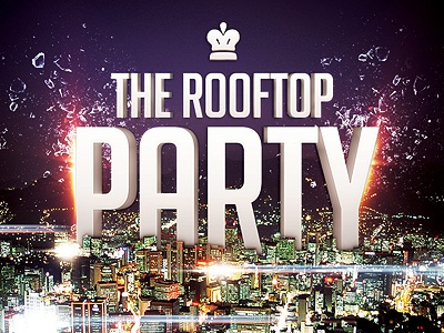 Rooftop Party Flyer By Ali Rahmoun On Dribbble