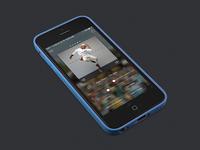 Media Player App + Controls