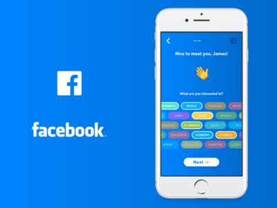 Facebook iOS App Redesign