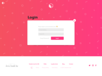 Student Loot - Login Page