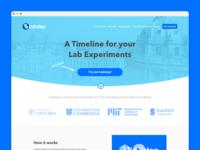 Labstep - Landing Page