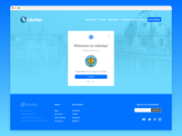 Labstep - User Onboarding Page