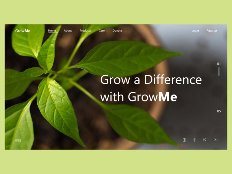 Plant Ordering Web UI webui webdesign plant user experience app user interface ui design creative ux ui graphics design design