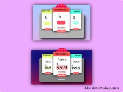 Flowroot188169 design graphics design pricing table ui creative vectorart vector ux ui