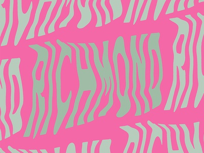 Richmond illustrator effects photocopy rva regina black typography type richmond