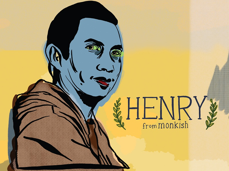 Henry illustration portrait monkish brewery beer craft beer
