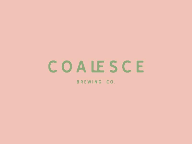Coalesce type coalesce typography logo