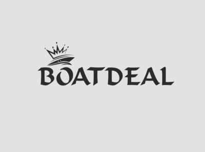 boatdeal 01 minimalist logo vintage logo boat logo logo