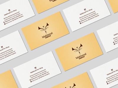 Makhmal Pet Shop Business Card