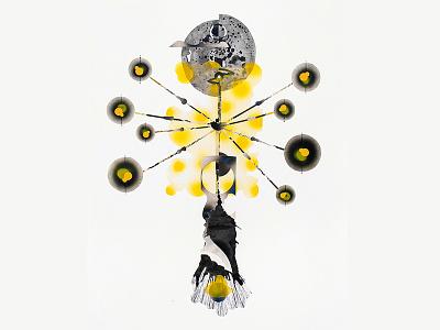 Die Lichtmaschine sunlight abstract illustration contemporaryart