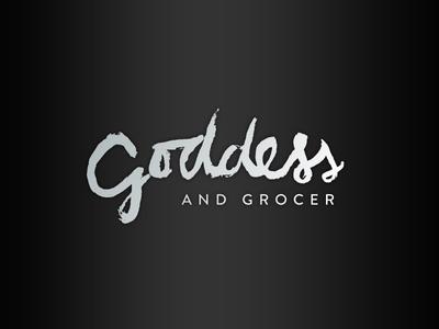Goddess and Grocer Logo