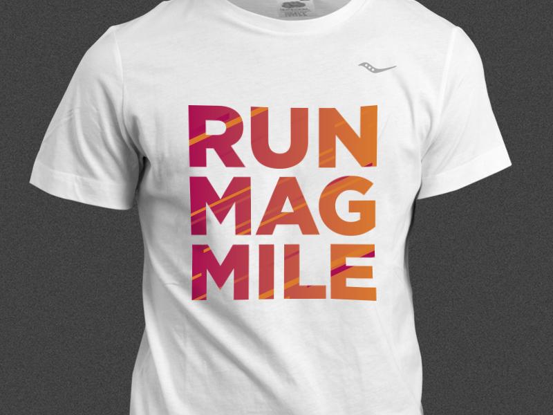 Run mag mile shirt