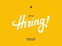Were hiring yellow
