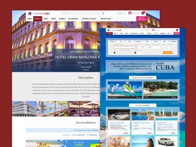 Web Travelnet Cuba
