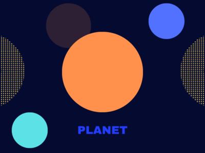 Planet Logo design ui logo