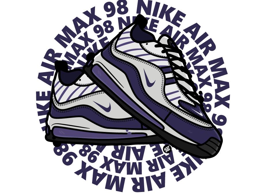 air max 98 art