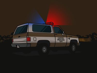 Hopper's car