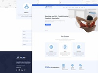 OYOXO - Heating air conditioning services template