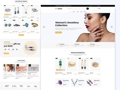 Surose - Jewelry eCommerce Template Design