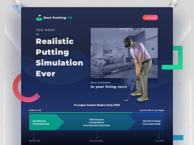 Real Putting VR Website