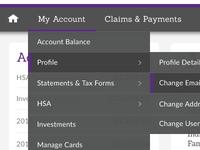 Account Navigation