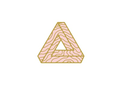 Optical Illusion illusion minimal logo vector illustration flat design branding