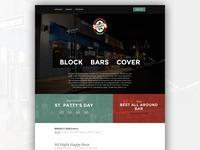 O'Daly's Irish Pub - One Page Website