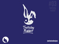 #ThirtyLogos #03 | Twitchy Rabbit Email Marketing