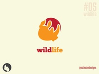 #ThirtyLogos #05 | Wildlife Logo