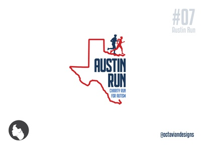 #ThirtyLogos #07   Austin Run