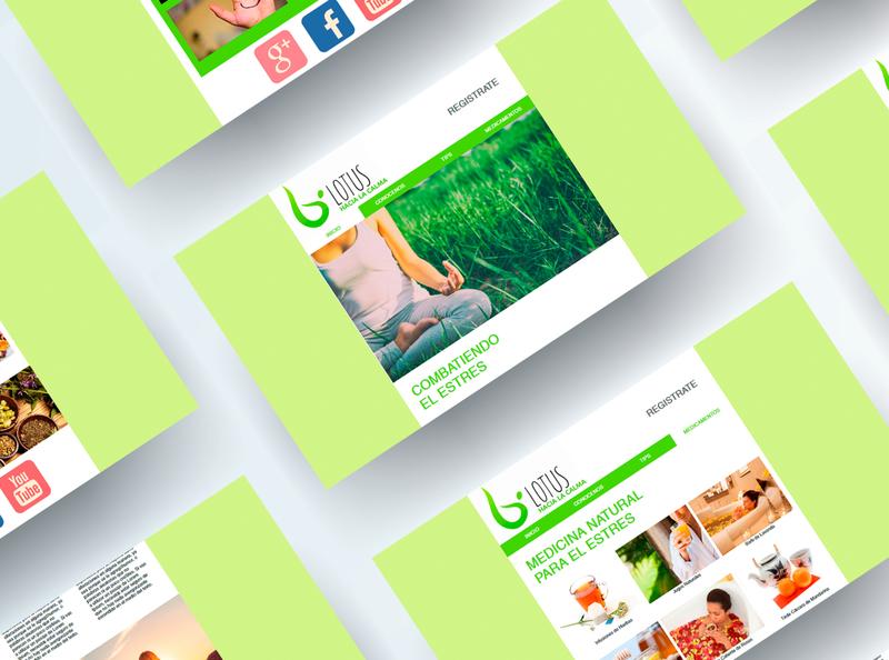 Lotus - Web Design