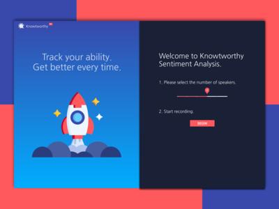 Sentiment Analysis Landing Page