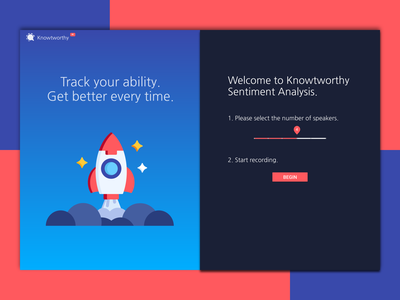 Sentiment Analysis Landing Page web branding typography ux ui  ux ui landingpage illustration gradient colors web design flat design clean