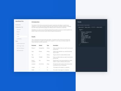 Clean Documentation Concept