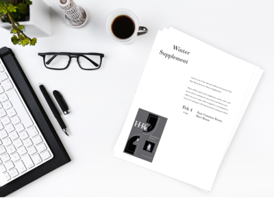 The Hart House Review - Micro Case Study on branding