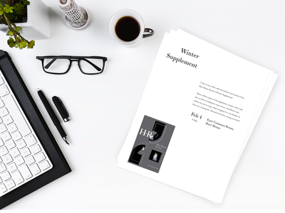 The Hart House Review - Micro Case Study on branding journal poster print typography minimal design branding flat clean