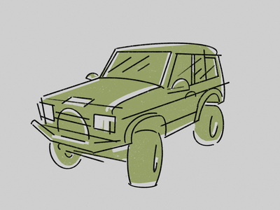Land Rover illustration