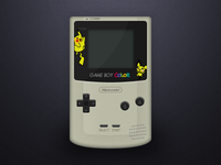Gameboy - Pokemon Edition (PSD)