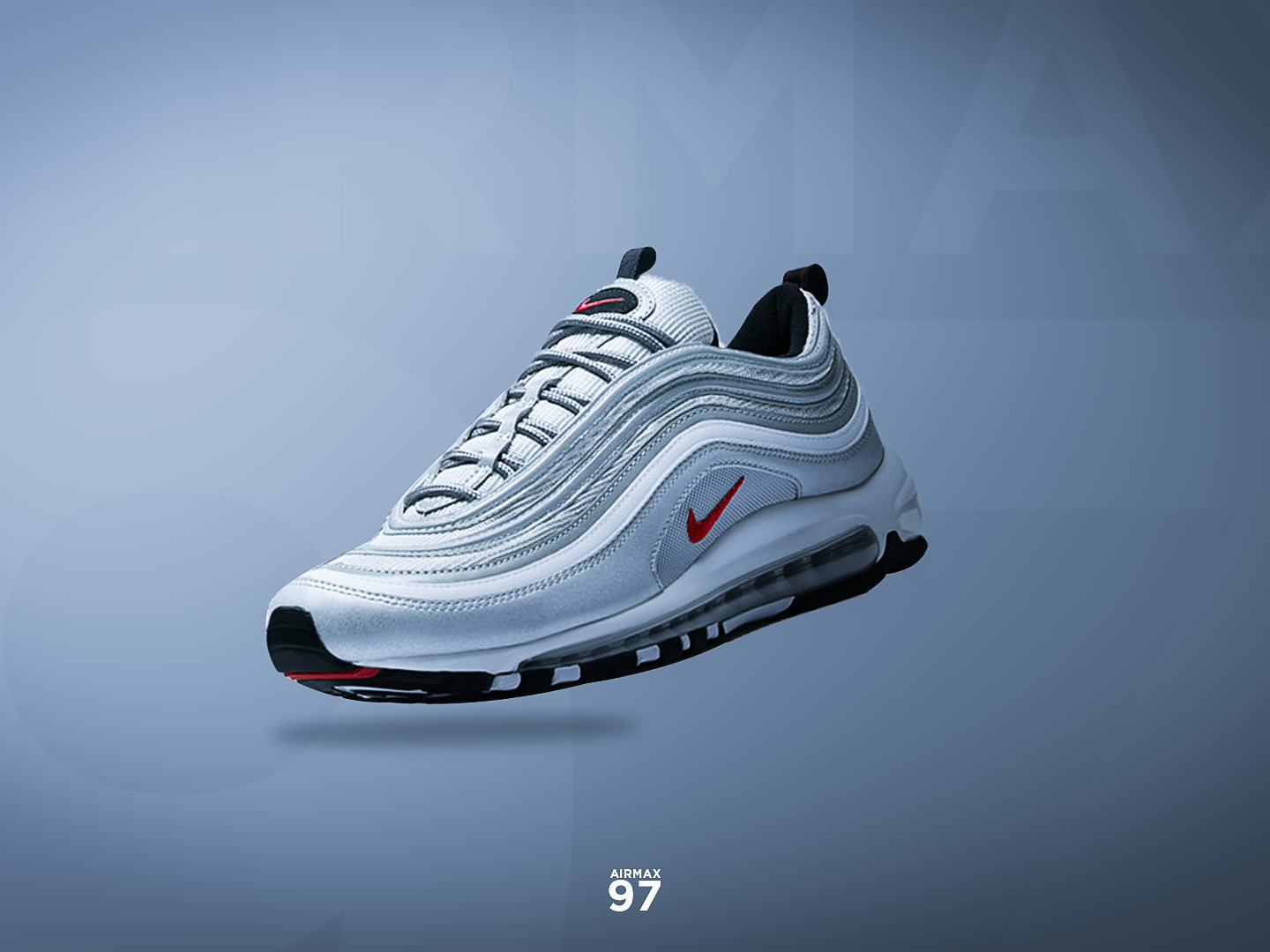 Nike Air Max 97's Advertisement by BrandynDZN on Dribbble