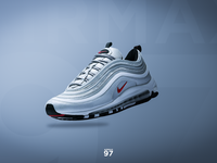 Nike Air Max 97's Advertisement