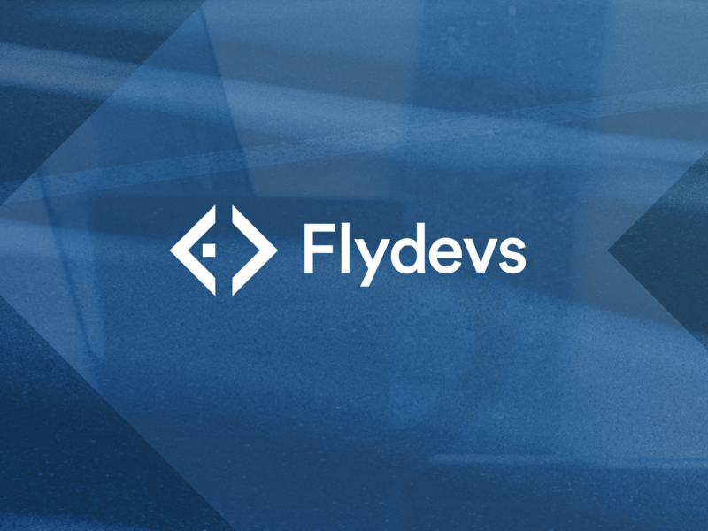 Flydevs logo logo icon argentina developers logotype