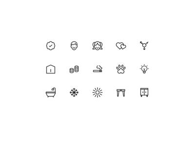 Alojar Icon Set