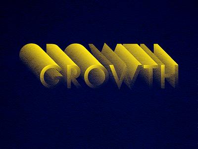 Growth branding typogaphy daroldpinnock alphabet pinnock design logotype lettering dpcreates darold pinnock typography