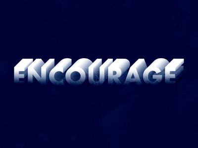Encourage alphabet design logotype pinnock logo lettering drawing darold pinnock typography dpcreates