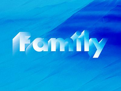Family vector design branding logo logotype pinnock lettering darold pinnock dpcreates typography