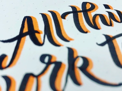 All Things pinnock lettering calligraphy and lettering artist logotype calligraphy dpcreates darold pinnock typography